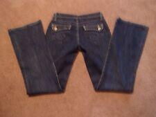 Women Twenty X Brand Denim Jeans Houston Low Slim Boot Cut SiZe 5x34 EUC!!!