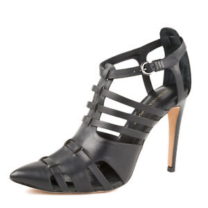 REBECCA MINKOFF Women's Randi Leather Pointed-Toe Pumps NIB