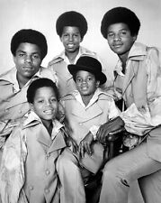 1969 THE JACKSON FIVE 5 Glossy 8X10 Photo Michael Jackson Print Portrait Poster