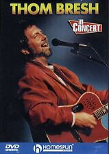 Thom Bresh In Concert Learn to Play Country Thumbpicking Guitar Music DVD