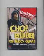 CHOP BUILDER FOR ROCK GUITAR *NEW* DVD JOE STUMP