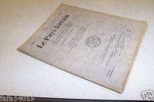 LE PAYS LORRAIN 1935 N° 8 Puttigny Souville Clodion general drouot