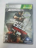 Tom Clancy's Splinter Cell Conviction Xbox 360 Game Free Fast Shipping
