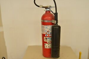 BADGER 15lb CO2 FIRE EXTINGUISHER NEEDS HYDRO TEST & RECHARGE GOOD CONDITION