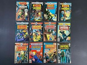 Run of (12) Star Spangled War Stories (1975-77) #185-204 DC Comics More Listed