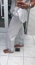 GORMAN Blue Chambray Pants Jeans Slouchy Drop Crotch Boyfriend