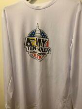 Rare Men's Army Ten-Miler 2017 Long Sleeve White XLarge Shirt