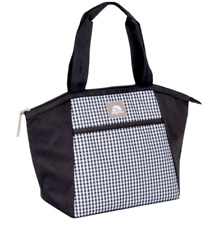 Black & white carre  Lunch bag, lunch box Essential Tote, 8 cans , Igloo