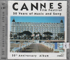 Cannes Film Festival 50 Years Of Music & Song 2CD NEW 50th Anniversary FASTPOST