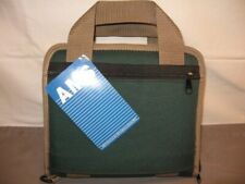 Ams Small Rectangular Pistol Case w/Handle Forest Green Nwt