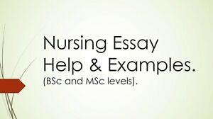 UK Nursing Degree Essay Examples. INCLUDING Dissertation. Graduated in 2017