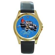 AUSTIN HEALEY SPRITE MK1 1958-61 VINTAGE POSTER REPRO WRISTWATCH **SUPERB ITEM**