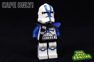 For LEGO Star Wars Custom Cape Cloth Minifigure 501st Commander Bow Clone Wars