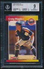 1989 Donruss rookie #561 Craig Biggio rc BGS 9 Mint