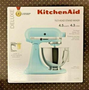 KitchenAid Deluxe 4.5 Quarts Tilt-Head Stand Mixer KSM97MI Mineral Water (NEW)