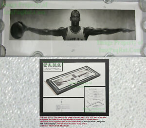 """NITF Limited Edition ☆ NEVER RELEASED ☆ Nike WINGS Poster ☆ Michael """"Air"""" Jordan"""