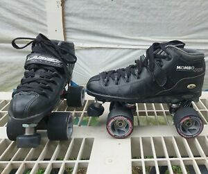 Labeda Accu-Fit Mombo Pro Roller Skates w/ Pro Hugger Wheels - Mens Size 7