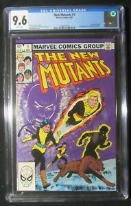 New Mutants #1 (1983 Marvel) CGC 9.6...Origin of Karma