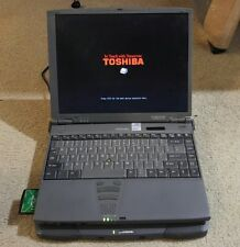 Vintage Toshiba Portege 7200 Ultraportable Notebook Computer Windows XP Win 98