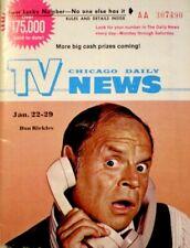 TV Guide 1972 Don Rickles Regional TV News Chicago Vintage EX/NM COA