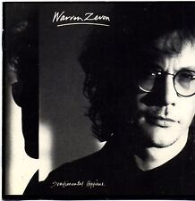 CD - WARREN ZEVON - Sentimental hygiene