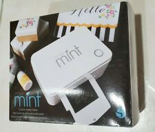 Silhouette Mint Stamp Kit and Ink Bottles