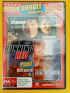 RUNNING RED & STEALTH FIGHTER - DOUBLE FEATURE