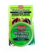 New O'Keeffe's Working Hands Cream 3.4oz Guaranteed Extremely Dry Cracked Hands