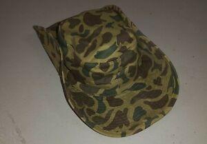VIETNAM WAR ERA U.S.A. / ARVN ARMY DUCK HUNTER CAMO BOONIE HAT - REPRODUCTION