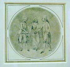 ILLUSTRATION THE OATH TAKING BEFORE A LADY WILLIAM WYNN RYLAND C1780