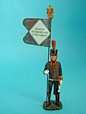 Soldat plomb Hachette Porte-drapeaux - 5ème artillerie cheval 1804 - Flag bearer