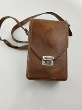 Vintage Marsand , brown camera bag with strap