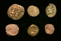 LOT OF 6 X ANCIENT GREEK COINS  - GOOD CONDITION