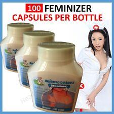 PUERARIA FEMINIZER Breast Enlargement Female Hormone Pills Oestrogen Transsexual