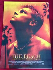 The Beach Kinoplakat Poster A1, Leonardo DiCaprio, Danny Boyle