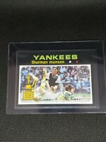 2021 Topps Series One THURMAN MUNSON #TDH-20 DOUBLE HEADER New York Yankees