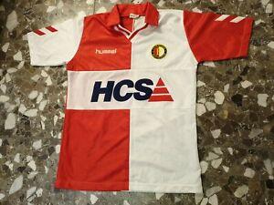 Maglia football shirt Trikot Feyenoord Hummel HCS 1989