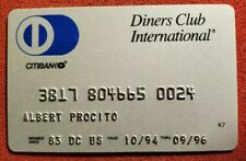 Diners Club International Citibank exp 1994♡Free Shipping♡ cc752