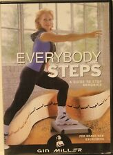 Everybody Steps a guide to step aerobics for beginners DVD Gin Miller exercise