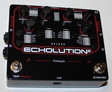 PigTronix Echolution 2 Deluxe , Programmable Multi-Tap Modulation Delay, NEW