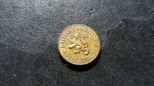 Australian  token Taylor and challen  British exhibition1964