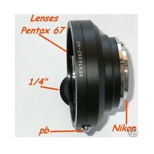 Adattatore fotocamera NIKON a obiettivo PENTAX 6x7 67 - ID 2388
