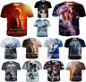 Fashion Women Men Casual T-Shirt 3D Print Game of Thrones Short Sleeve Tops Tee
