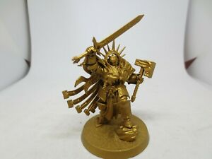 Warhammer AOS Stormcast Eternals Lord Celestant Made and Base Painted  A G235