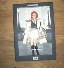 Burberry 2000 Barbie Limited Edition RED HAIR RARE