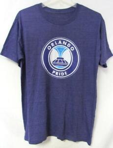 Orlando Pride T-Shirt, Mens, Size Medium, Purple A1 2845
