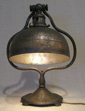 Tiffany Studios Bronze Zodiac Desk Lamp # 661