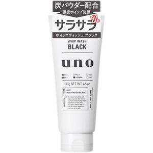 Shiseido Japan UNO Whip Wash Cleanser for Men (130g/4.5oz.) Moist / Deep / Scrub
