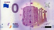 Litauen - 0 Euro Schein - € Souvenirschein - Vilnius 2018-1