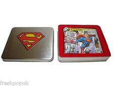 Portafoglio DC Comics Wallet in a Tin Flying Superman uwr